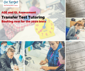 AQE and GL transfer Test Tutoring